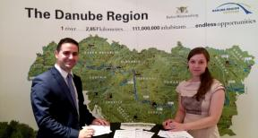 Danube strategy Point opening ceremony