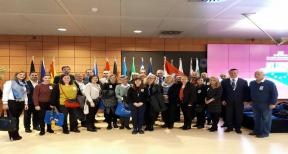 Representatives from Brod-Posavina County on the study visit in Brussels