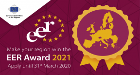 Launch of the 2021 edition of the European Entrepreneurial Region (EER) Award