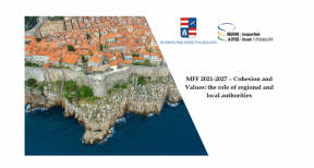 Invitation EWRC: MFF - 2021-2027 – Cohesion and Values: the role of regional and local authorities