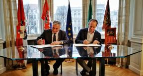 Signed Memorandum of Understanding  between the Dubrovnik Neretva  and  Veneto region